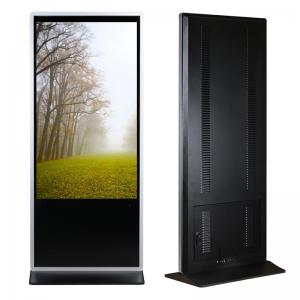 China 55 Full HD Advertising Digital Signage Kiosk Interactive Information Kiosk 10 Points Touch on sale