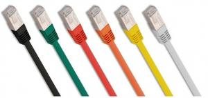 China SFTP Double Shielded Cat5e Ethernet Patch Cable on sale