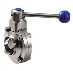 China Sanitary Stainless Steel Butterfly Valves on sale