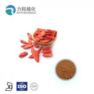 China Lycium Chinense Mill Organic Plant Powder Polysaccharide 10% - 50%  Anti-Fatty on sale