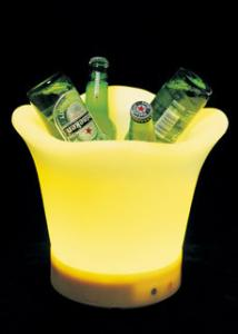 China roto moulding LED ice bucket on sale