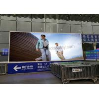 P6 Full Color Projects Outdoor Led Display Signs Advertising For High Speed Railway