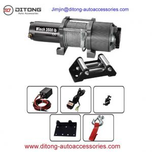 China 3500LBS 12V 24V DC Self Recovery Electric Winch/mini electric winches/electric winch on sale