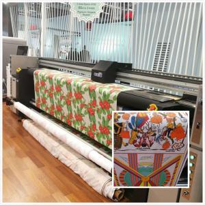 China Digital Fabric Printing Machine Flags Printing Printers Polyester Fabric Banner Print on sale
