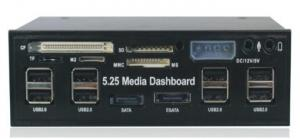 """Quality 5.25"""" USB 2.0 internal multi card reader & writter multi function panel (MH-MFP-525A) for sale"""