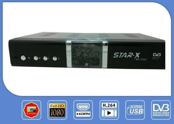 STAR - X GX6605 Digital DVB - S2 HD Satellite Receiver 1080P
