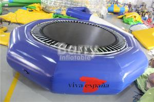 China Open Water Customized Size Durable Inflatable Floating Water Trampoline For Kids on sale