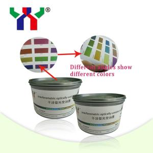 China High Quality Screen Printing Optical Variable Ink for Security Document on sale