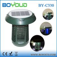 Electronic Pest Control Product Camping Solar Mosquito Killer Lamp