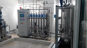 China Electrodeionization Micro-computer Controller Pharmaceutical Application RO Pure Water Plant on sale