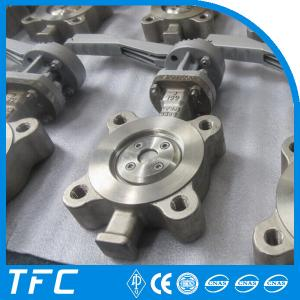 China ss metal to metal seat triple offset butterfly valve on sale