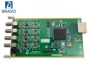 China Tremendous Data Processing Sub Board , 4 Channel FM / AM Audio Capture Sub Card on sale