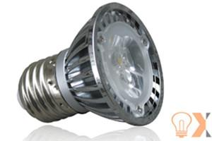 China Long Life 2800K - 3000K 3W AC85 - 265V Dimmable E27 Led Spotlight Bulbs, OEM, ODM on sale