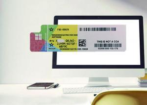 China Authentic Win 10 Pro COA Sticker 100% Original Online Activate Multi Language on sale