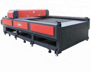 China Large Laser Foam Cutting Machine Industrial Use Eva Cutting Machine on sale