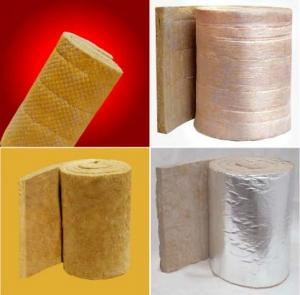 Quality Rockwool Sound Insulation Refractory Blanket / Cloth Felt / Wire Netting Felt for sale