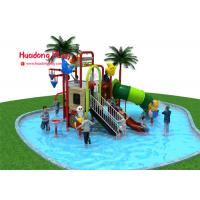 Classical Water Park Playground Equipment Food Grade Plastic Vivid Color EU Standard