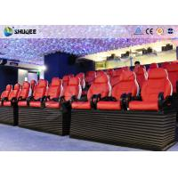 Customized 3D / 4D / 5D Motion Movie Theater With Dynamic Film, Simulation System