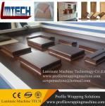 MDF cabinets cabinet door PVC vacuum membrane press machine