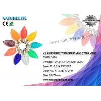 China C9 Pine Cone LED Christmas Light Bulbs Waterproof Fireproof CE / RoHS Certificate on sale