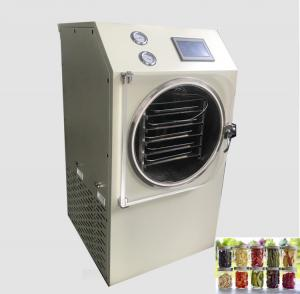 China Stainless Steel Small Freeze Dry Machine Touch Screen Operating One Key Start on sale