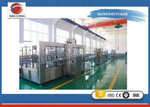 Quality Washing Filling Sealing 3 in 1 Monoblock Drink Water Filling Machine for Pet Bottle for sale