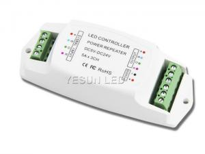 China 3 x 5A LED Amplifier RGB Led Light Strip Controller For Led Lights RGB Color Changing on sale