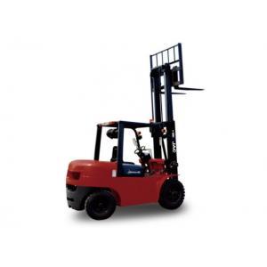 4 Ton Counterbalance Diesel Forklift Truck With Isuzu Engine High Efficiency