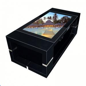 Quality Auto Lifting Lcd Nano Multi Touch Screen Table 43 Inch High Brightness For for sale
