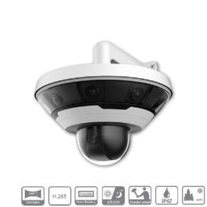 China Dahua 8x2MP Multi-Sensor Panoramic Network Camera+PTZ Camera on sale