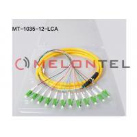 China Fiber Optic Patch Network Cable - Fiber Optic for Network Device ,  Patch Panel - Patch Cable 12 core LC APC on sale