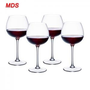 China Best quality clear color goblet wine glass cup fish bowl on sale