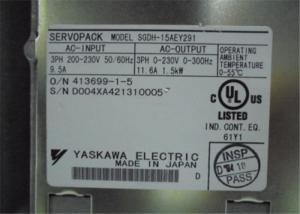 China 1500W 3 Phase Servo Motor Driver Servopack For Industrial SGDH-15AE-Y291 on sale