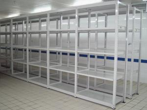 China Assembled Light Duty Warehouse Storage Pallet Rack , Industrial Storage Shelving Units on sale