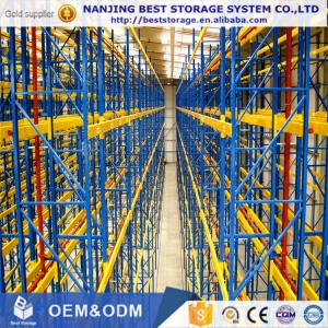 China Very narrow aisle pallet racking system frpm Chinese supplier very competitive cost and professional service on sale