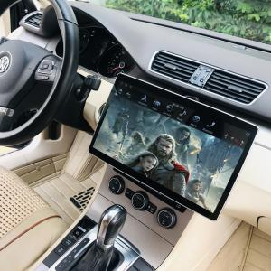 China KLYDE KD-1280 Tesla Style Universal Car Multimedia GPS System 2Din Android Tesla Radio With 12.8 Inch Big Rotation Scre on sale