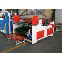Semi Automatic Folder Gluer / Automatic Carton Folding Gluing Machine