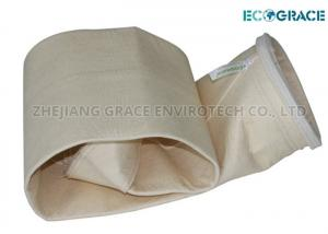 China Boiler Flue Dust Collection PPS Filter Bag with PTFE Dispersion Finished on sale