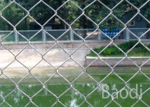 China Chain Link Fence Privacy Screen, Low Carbon Steel Wire Cyclone Fence Panels on sale