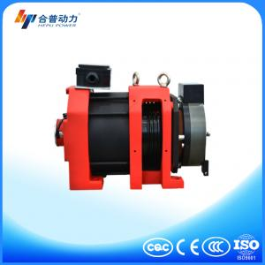 China WTD2-P 800kg noiseless elevator component roping 2:1 Disc brake elevator traction machine on sale