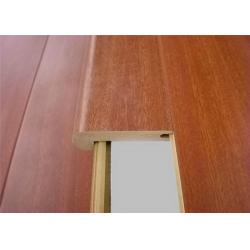 China Mdf Molding Stair Nose Laminate Anti Slip Stair Nosing Accessories  For Laminate Flooring For Sale ...