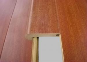 Quality Mdf Molding Stair Nose Laminate Anti Slip Stair Nosing Accessories  For Laminate For Sale ...