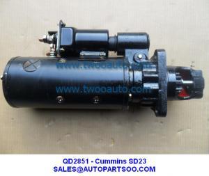 China QD2815 - Cummins NTA855-C280 STARTER SD32 SD22 for Bulldozer MOTORES DE ARRANQUE on sale