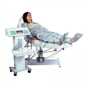 China Air Pressure Infrared Light Therapy Bed Lymphatic Drainage Full Body Slimming Suit on sale
