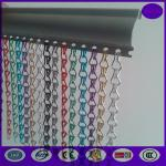 China 100% anodized aluminum chain fly link curtain screen  with special track wholesale
