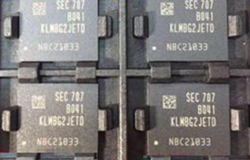 KLMBG2JETD-B041 32gb Flash Chip EMMC 5 1 With BGA153 Socket