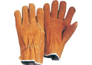 China index finger, wing thumb split Pig Leather Safety Working Driver Gloves / Glove 21201 on sale