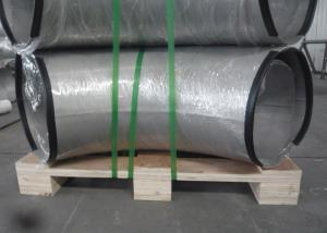 China 10 Inch Large Size Steel Pipe Elbows , High Precise Stainless Steel Tube Weld Fittings on sale