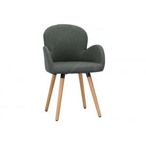 China Simple Style Trendy Hotel Room Chairs Four Wood Legs Wooden Frame Highly Endurable on sale