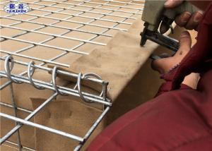 China Military Hesco Barrier Welded Gabion Box For Military Shooting Range on sale